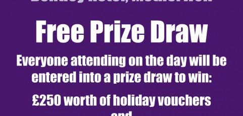 AGM Prize Draw