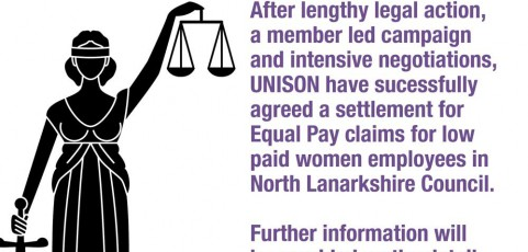 North Lanarkshire Council, Fox and Partners, Action 4 Equality (Scotland) Ltd and Unison 2nd wave equal pay cases v North Lanarkshire Council