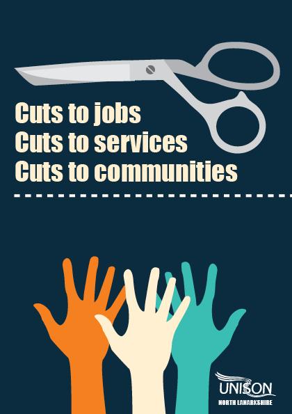 UNISON cuts leaflet page1