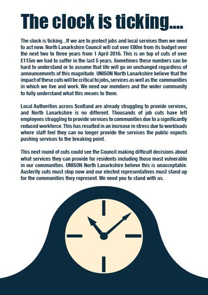 UNISON cuts leaflet page2