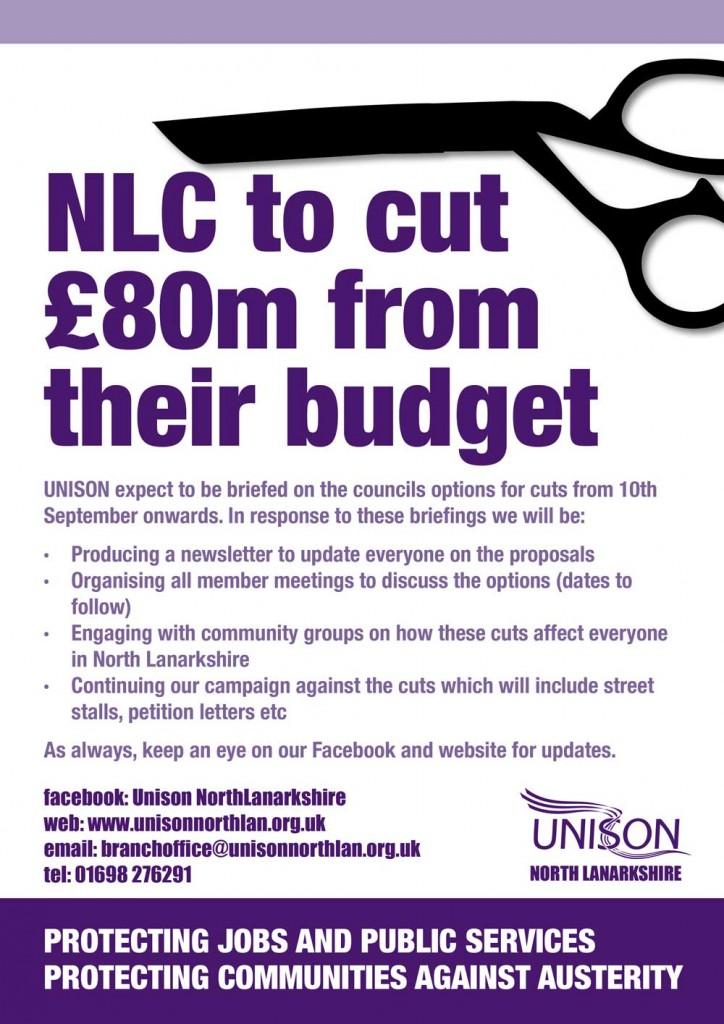 NLC to cut £80m