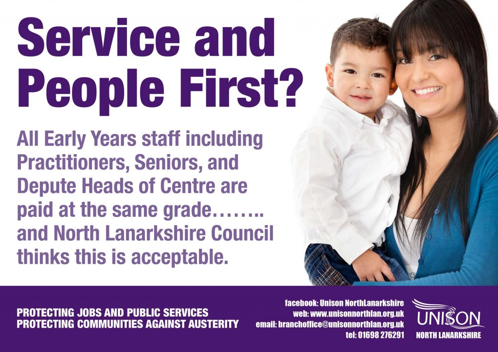 Service and People First?