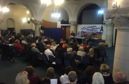 Strong turnout of Unison members at meetings