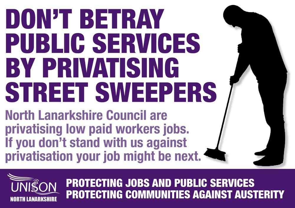 UNISON-street-sweepers-privatisation